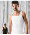 2 Pack Men's Tankopin pure combed BIOcotton white