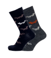 Women's merino wool socks jacquard Bengt & Lotta