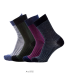socks extra wool fine color and stripes - Nordic spirit woman
