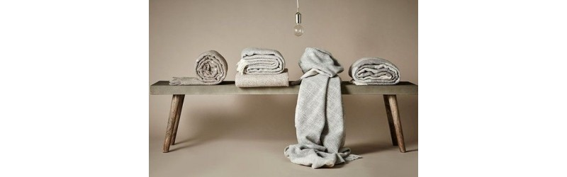 pure lambswool throws made in Scandinavia