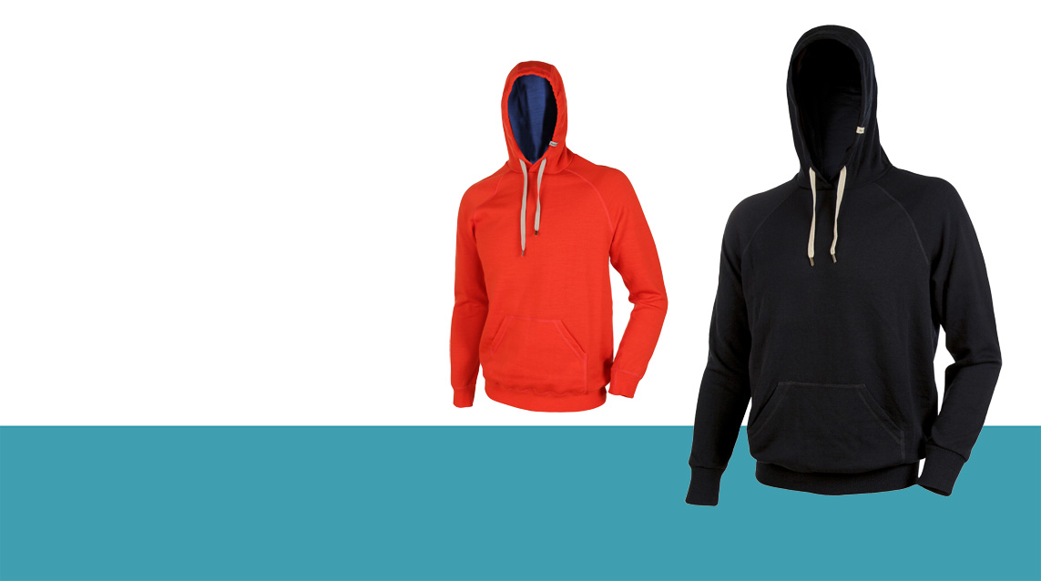 Masque-slider-bleu-hoodie-noir-orange